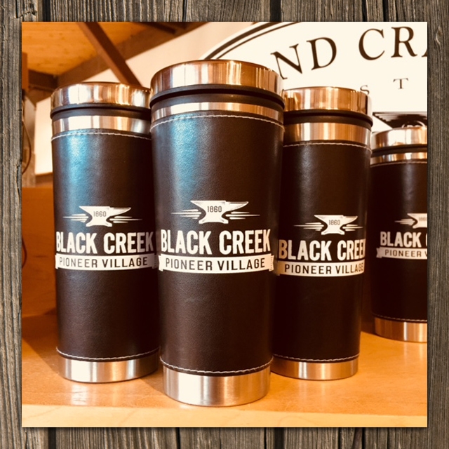 Black Creek travel mugs