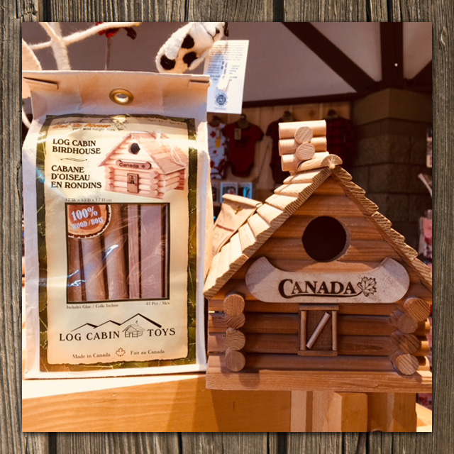 log cabin toy