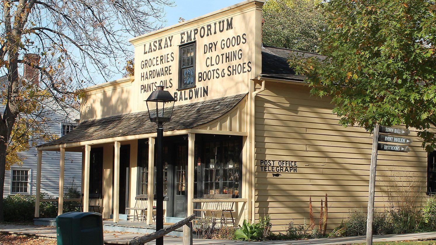 Laskay Emporium at Black Creek Pioneer Village