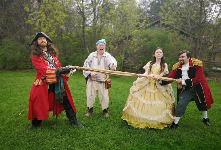 pirates and princes tug of war