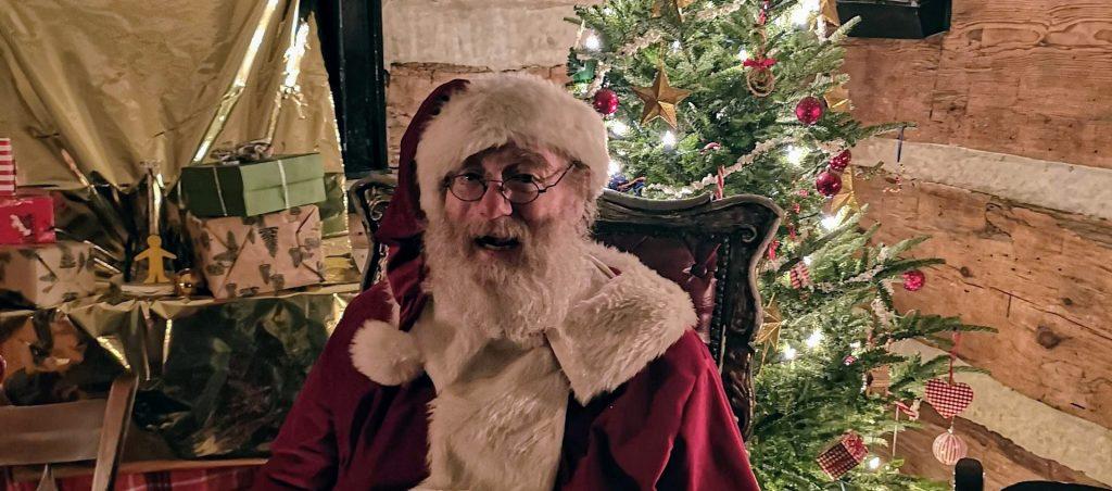 Santa Claus at Black Creek Pioneer Village