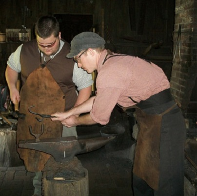 apprentice blacksmith