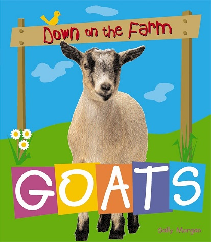 Down on the Farm Goats book cover