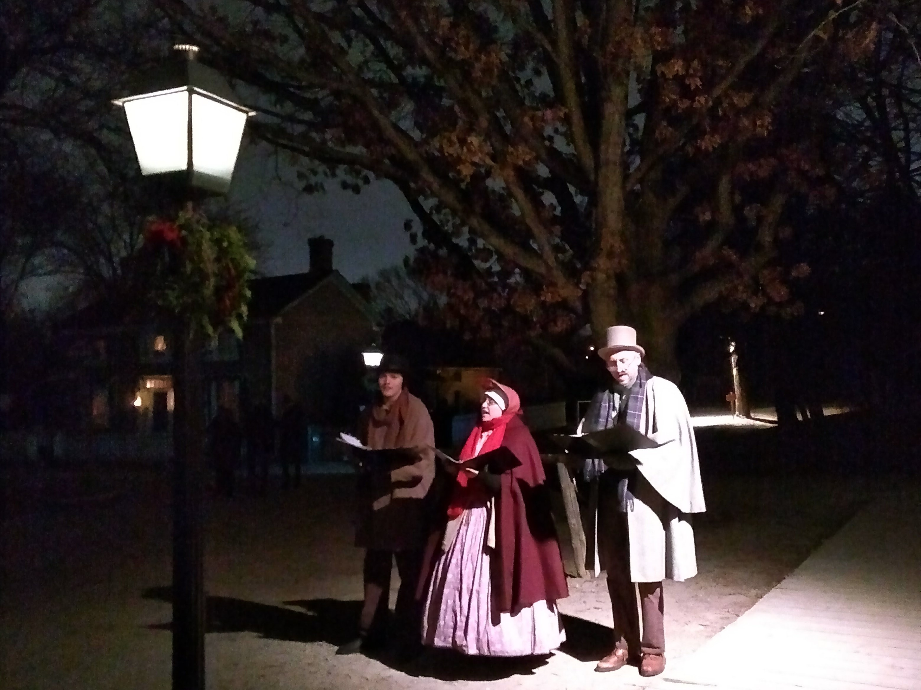 Pioneer carolers at Black Creek Pioneer Village