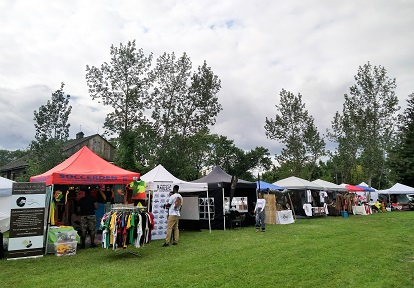 RastaFest vendors at Black Creek north property