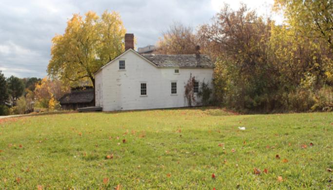 heritage house on Black Creek north property