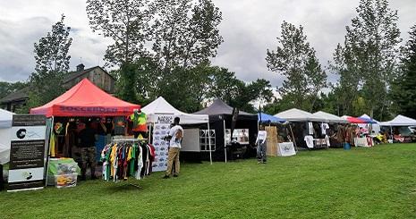 RastaFest vendors at Black Creek north property