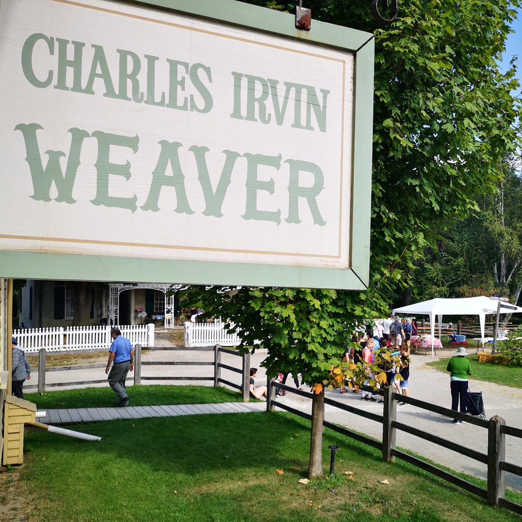 Charles Irwin Weaver sign