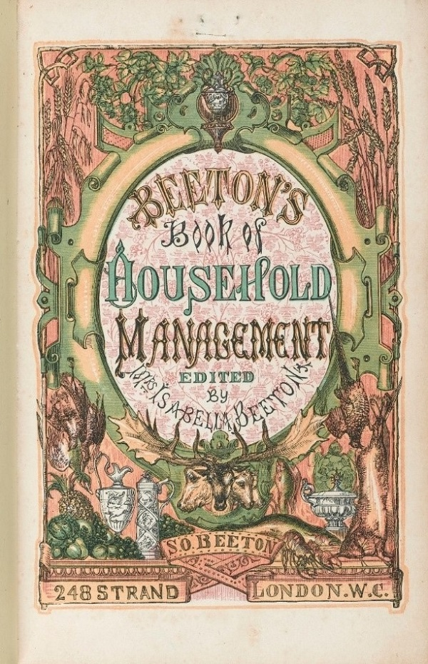 cover of Mrs Beetons Book of Household Management