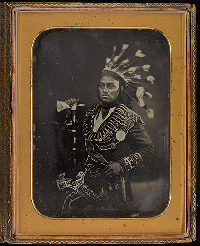 example of a 19th century daguerrotype