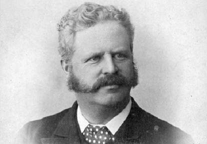 archival photograph of William Holmes Howland