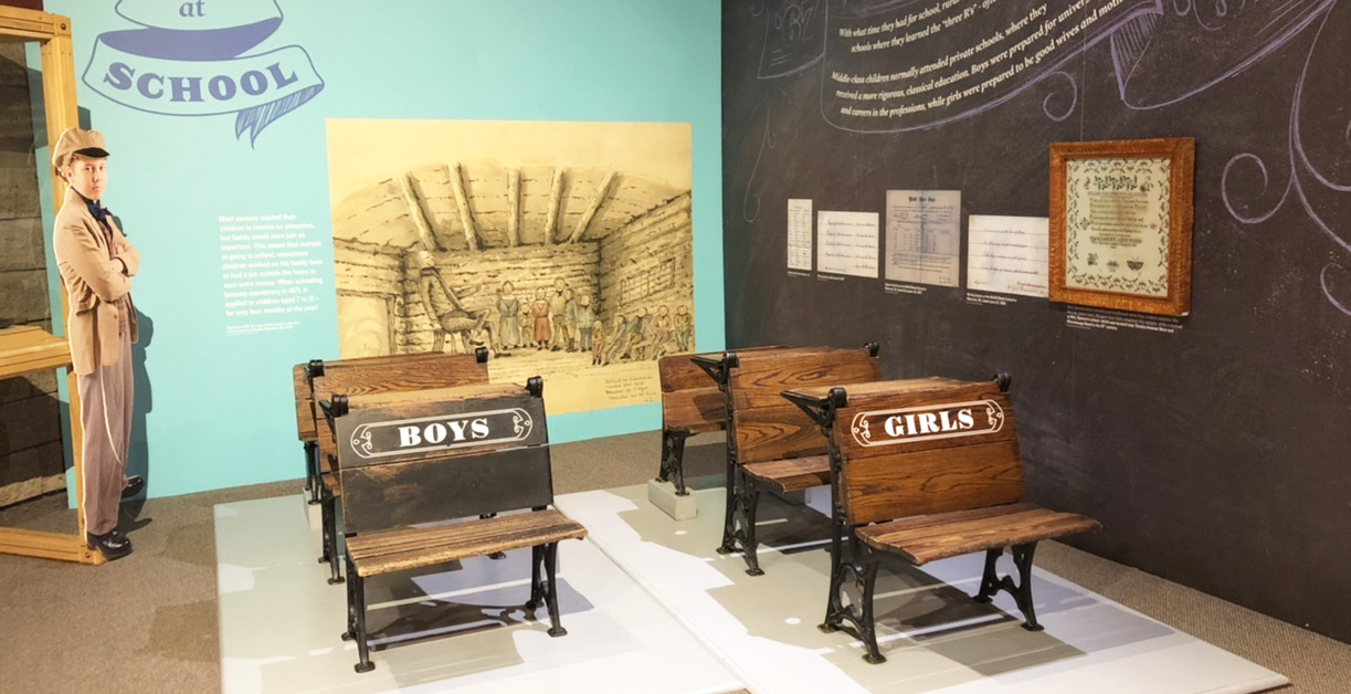 Class of 67 exhibit at Black Creek Pioneer Village