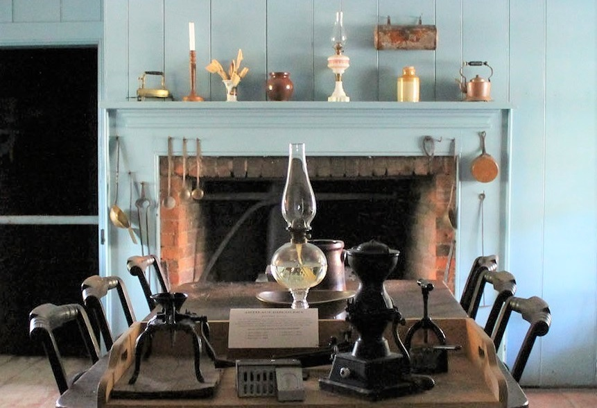 kitchen of Burwick House at Black Creek Pioneer Village