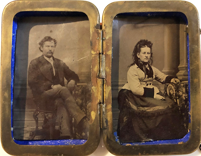 example of a 19th century tintype