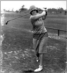 photograph of 1920s golfer Maureen Orcutt