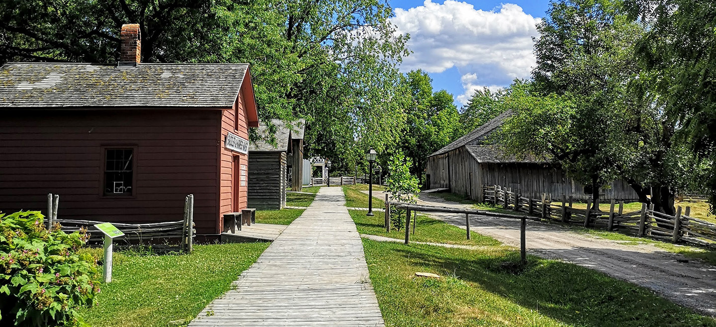 street and heritage buildings provide a perfect photo backdrop at Black Creek Pioneer Village