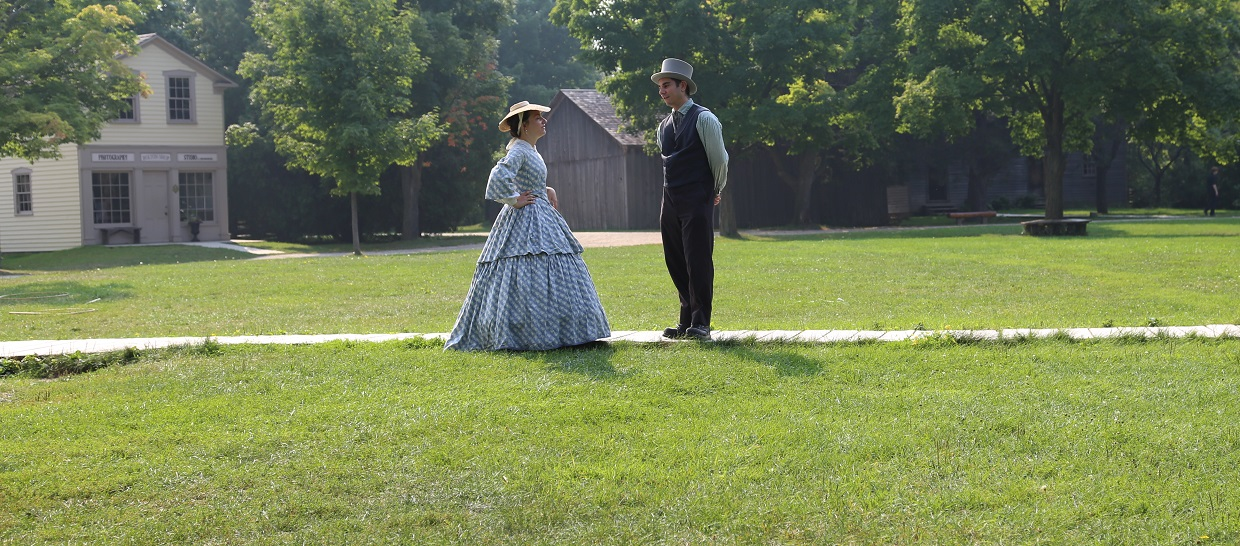 explore everyday life in the 19th century on a guided experience at Black Creek Pioneer Village