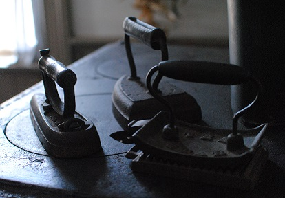 19th century clothes irons