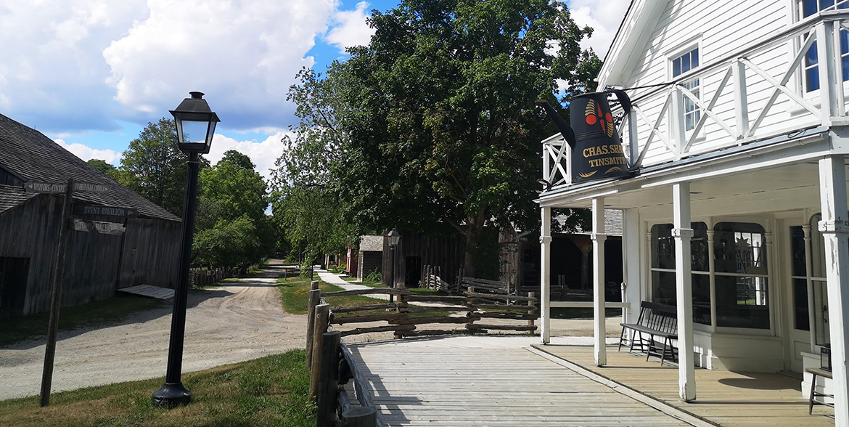 Black Creek Pioneer Village street scene