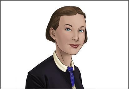 Edith Sommerville illustration