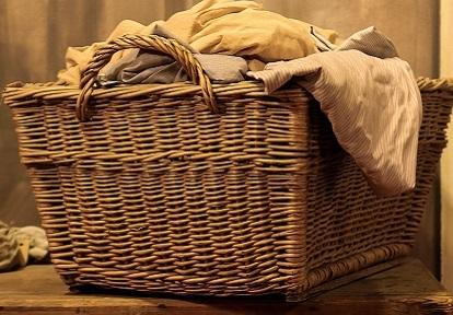 wicker laundry hamper