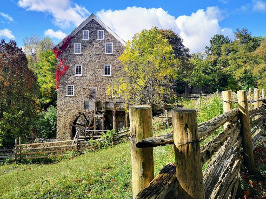 The mill at The Village