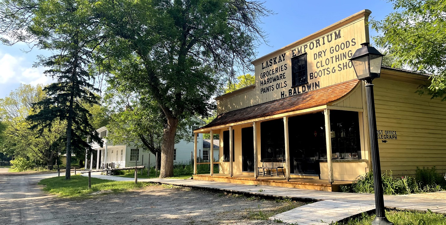 discover historic buildings at Black Creek Pioneer Village on an outdoor guided experience