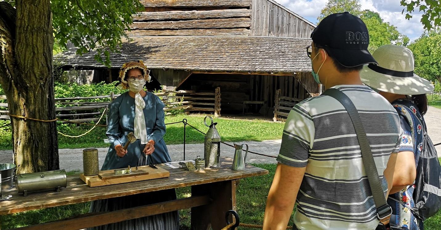Black Creek Pioneer Village members enjoy a free visit