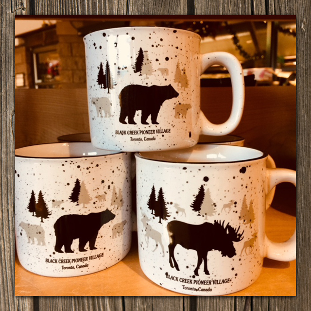 Black Creek souvenir mugs