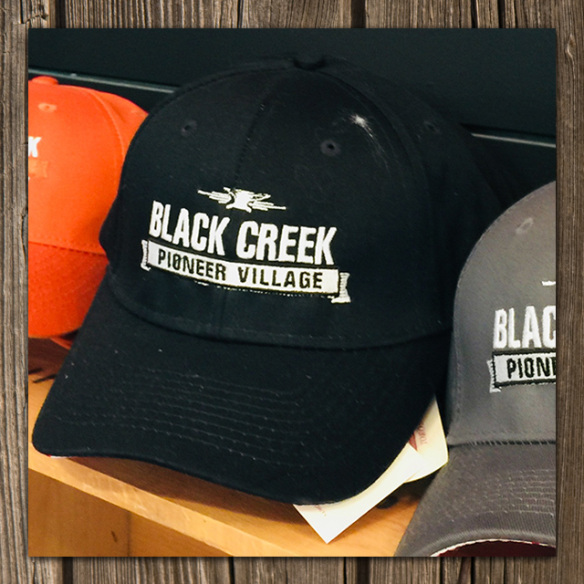 Black Creek souvenir baseball caps