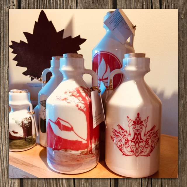 hand painted jugs