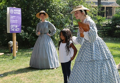history actors perform at Black Creek Pioneer Village