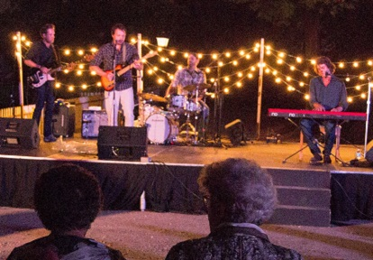 the Devin Cuddy Band performs at the Black Creek Pioneer Village Light Up the Night event