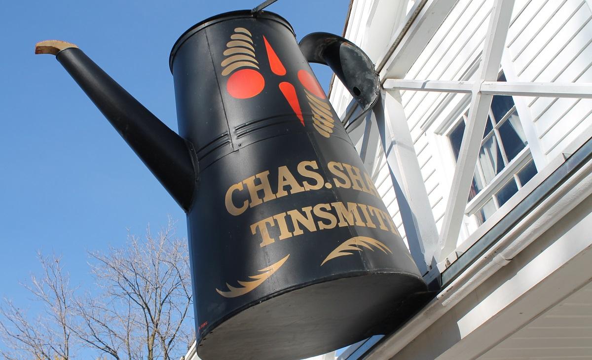Tinsmith shop at Black Creek Pioneer Village