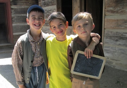 boys take part in junior day camp at Black Creek Pioneer Village