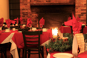 Holiday dinner and meetings