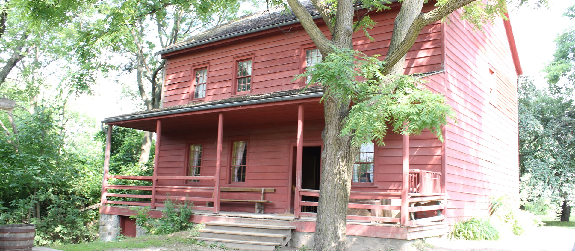 the Daniel Stong second house at Black Creek Pioneer Village