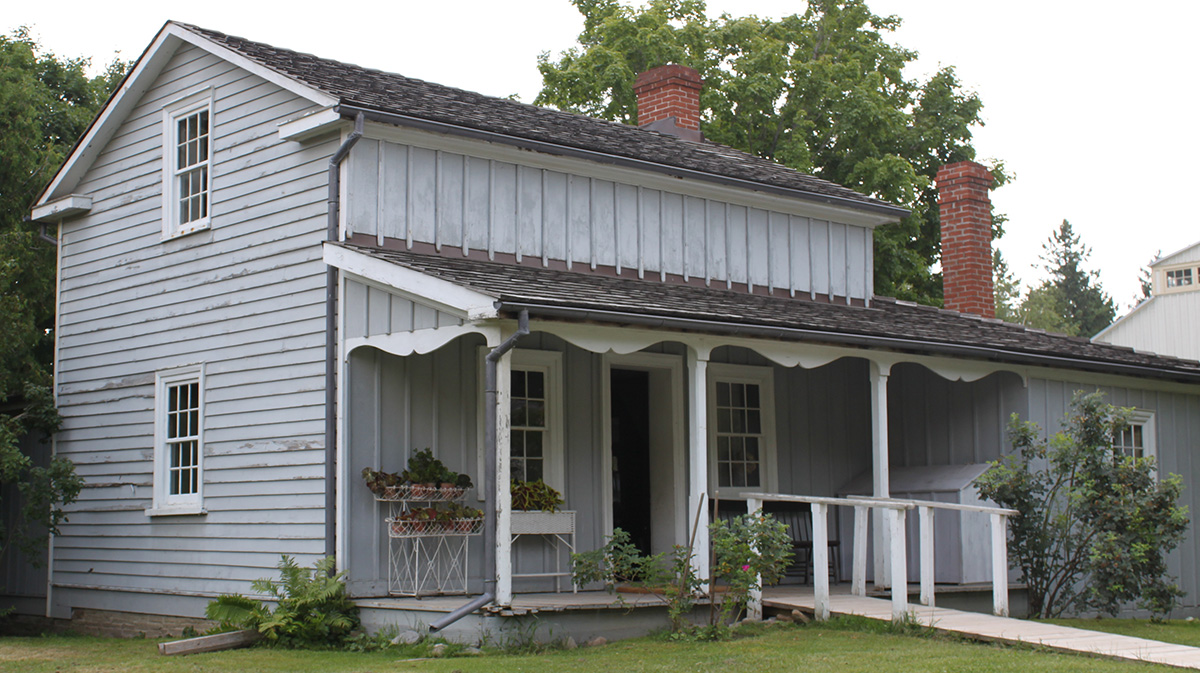 Mackenzie House at Black Creek Pioneer Village