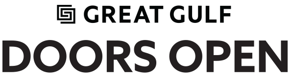 Great Gulf Doors Open logo and wordmark