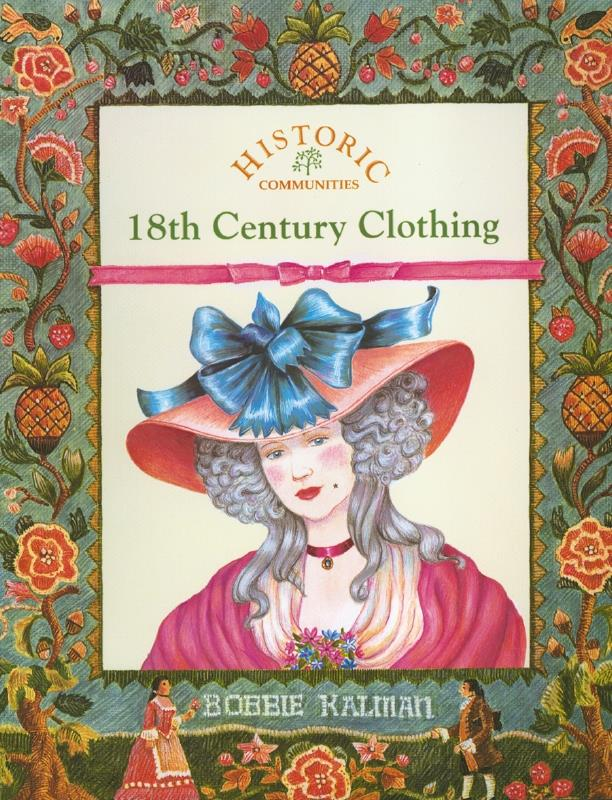 cover of the book 18th Century Clothing