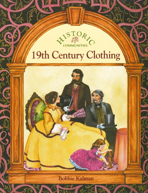 cover of the book 19th Century Clothing