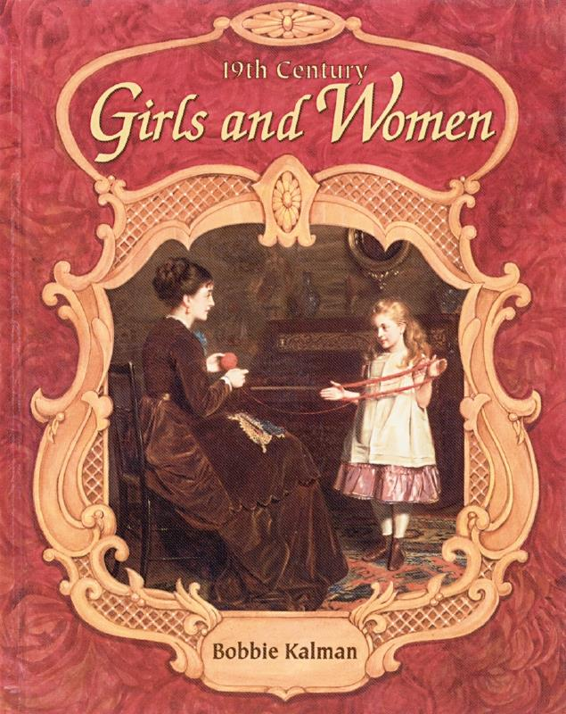 cover of the book 19th Century Girls and Women