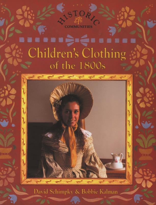 cover of the book Childrens Clothing of the 1800s