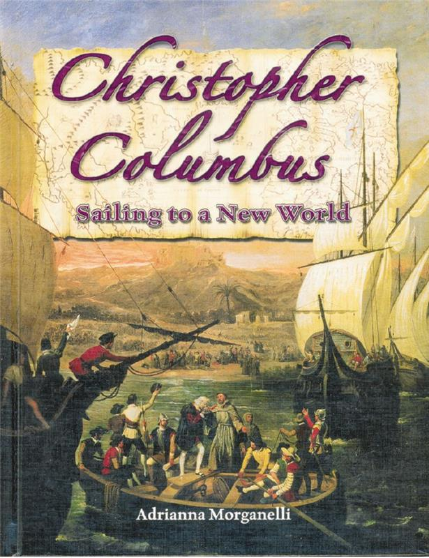 cover of the book Christopher Columbus Sailing to a New World