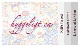 Hyggeligt Fabrics Logo