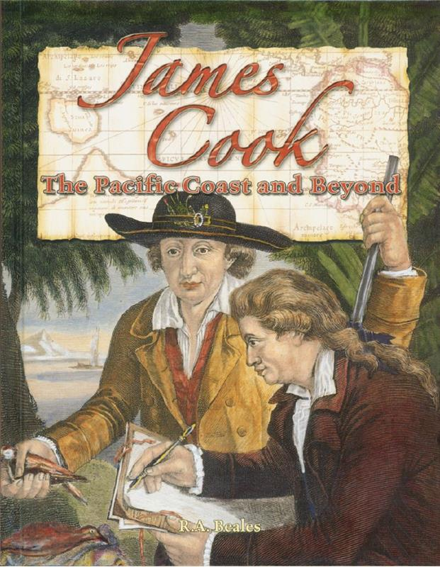 cover of the book James Cook The Pacific Coast and Beyond