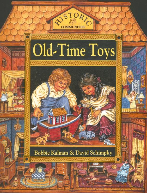 cover of the book Old Time Toys