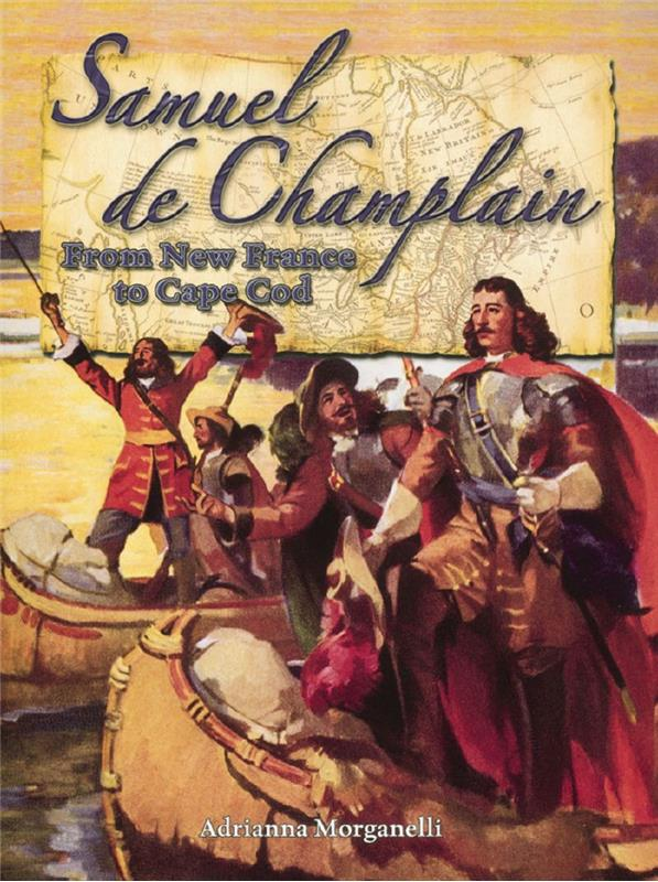 cover of the book Samuel de Champlain from New France to Cape Cod