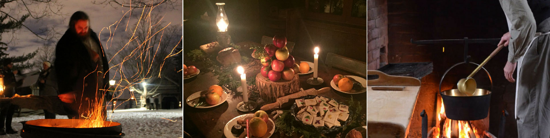 festive treats at Black Creek Pioneer Village Christmas by Lamplight event