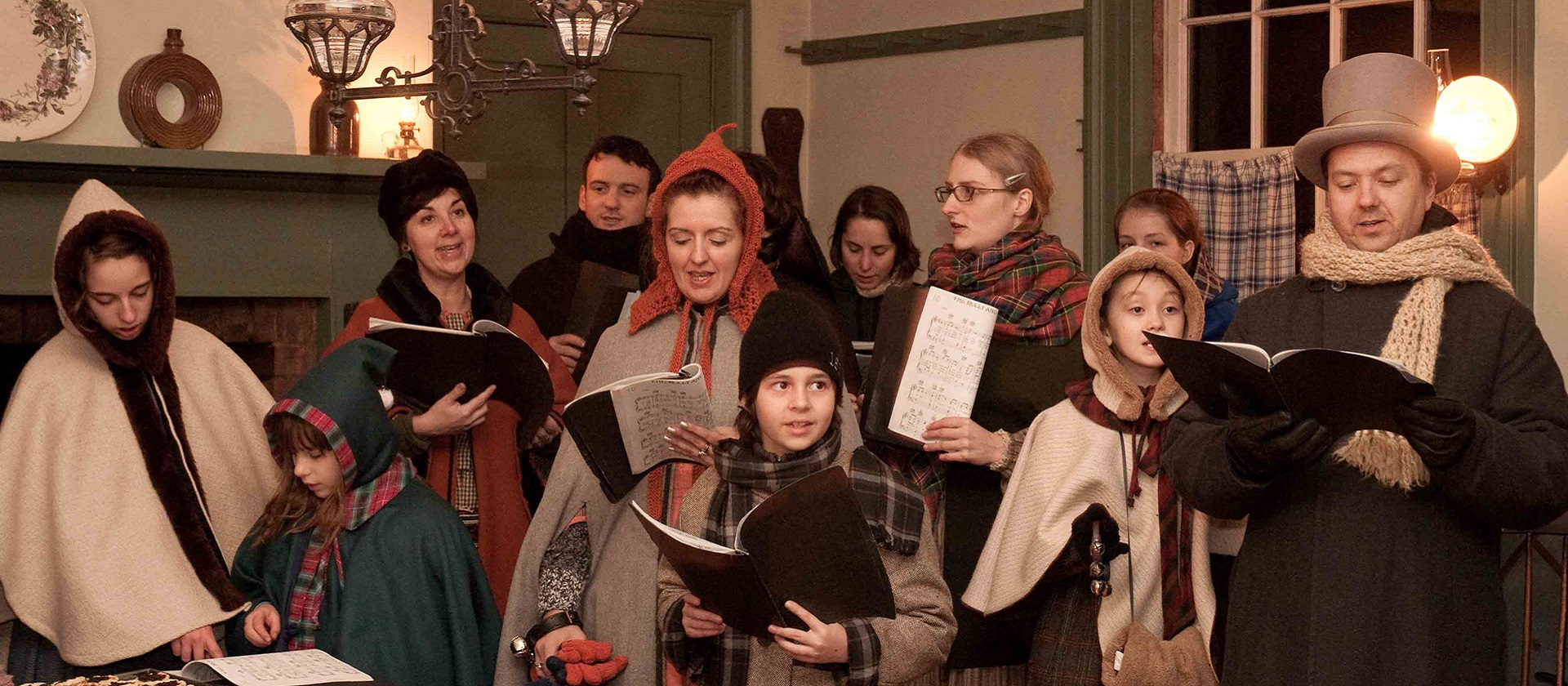 Christmas carolers perform at Black Creek Pioneer Village